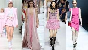 rosa colore moda primavera estate 2018