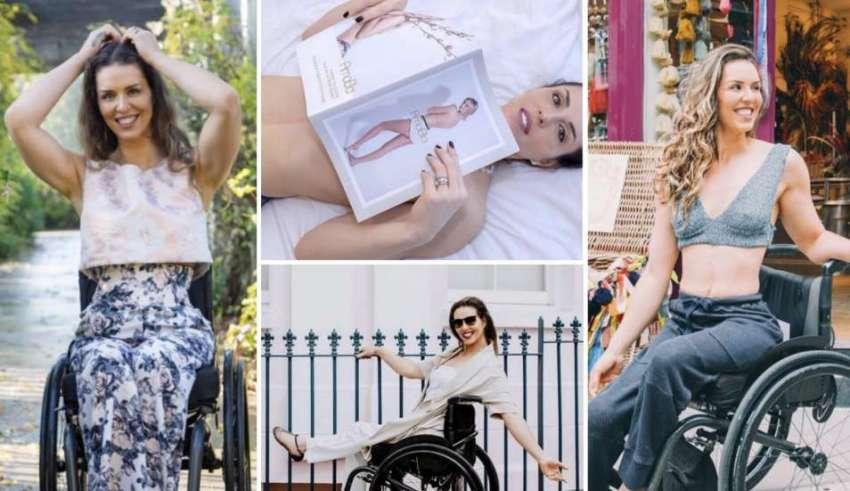 Samanta Bullock: una linea di moda per le donne disabili
