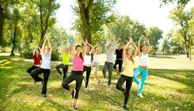 Gym al parco: esercizi semplici ed efficaci