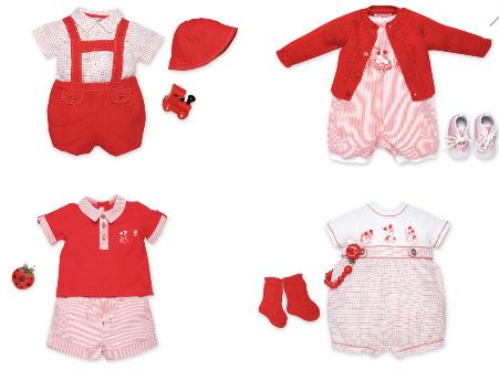 Trend moda bambini SS19 : il rosso