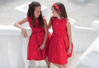 abiti cerimonia bambini le petit rosso