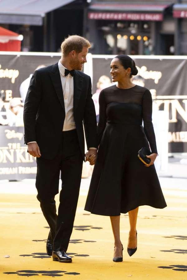 Meghan Markle sul red carpet per il Re Leone ha mostrato il lato più glam dei vestiti da cerimonia della moda estate 2019