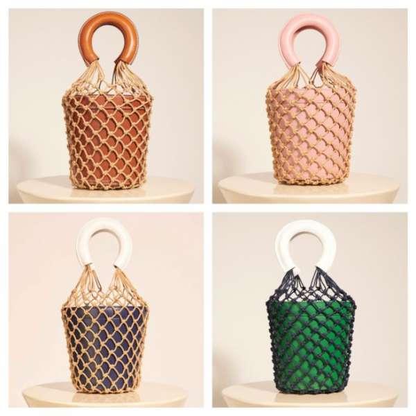 La fishnet bag ha anche un aspetto comunicativo