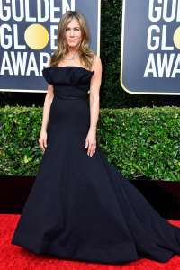 JenniferAniston GoldenGlobes VogueGlobal 5Jan20 GettyImages