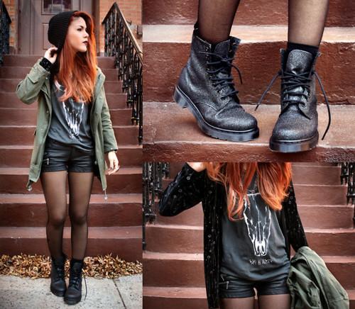 """""""Combat boots"""", l'accessorio cult di questa stagione"""