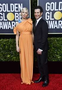 michelle williams and thomas kail attend the 77th annual news photo 1578271820
