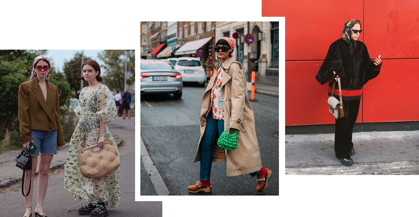 trends 2020 accessorio foulard headscarf streetstyle