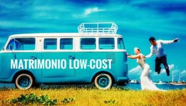 Matrimonio sotto costo