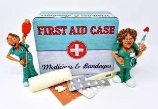 Il pronto soccorso in valigia: tutto il necessario per far fronte all'emergenze