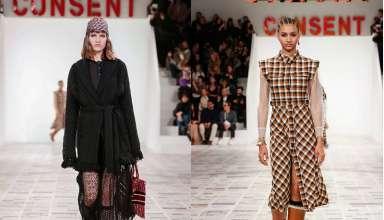Sfilata autunno inverno 2020/2021diChristian Dior: mix di fantasie