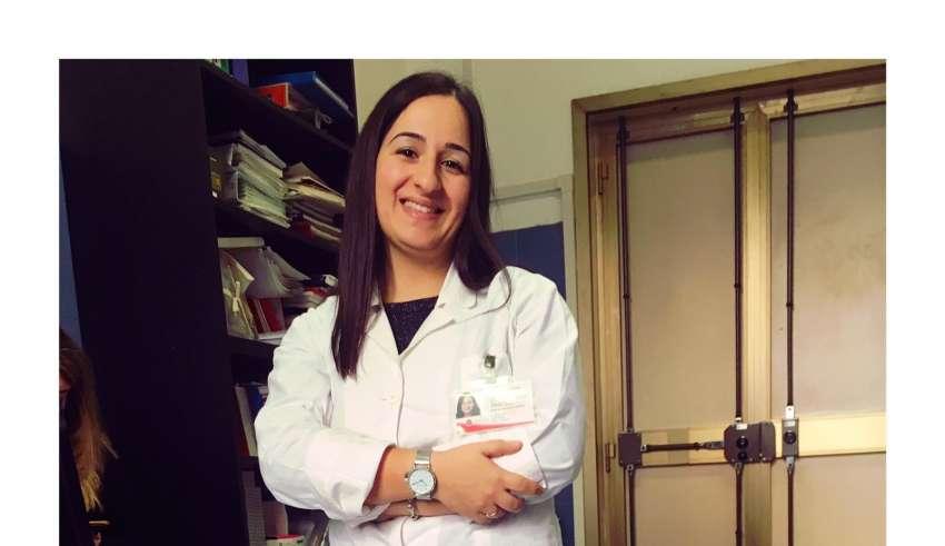 Annalisa, la prima assistente sanitaria vaccinata presso la Asl di Latina