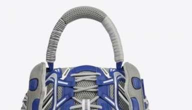 Balenciaga presenta la nuova borsa identica alle sneakers