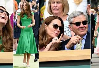 Kate Middleton: i look di Wimbledon e Wembley 2021